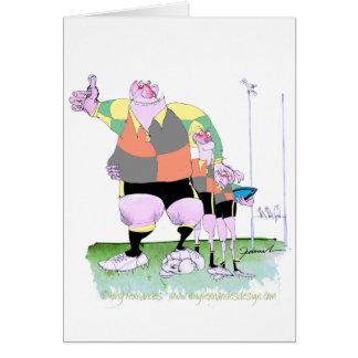 Rugby chums, tony fernandes card