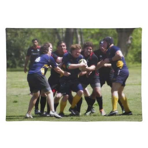 Rugby Cloth Placemat