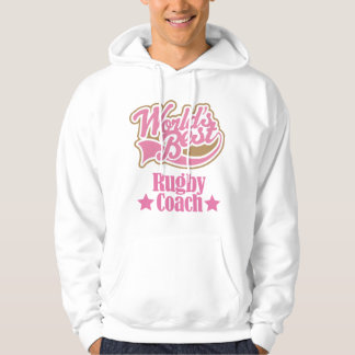 Rugby Coach Gift Girls (Worlds Best) Hoodie