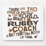 Rugby Coach Gift Mouse Pad