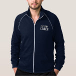 Rugby coach sports jacket for men
