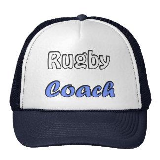 Rugby coach trucker hat