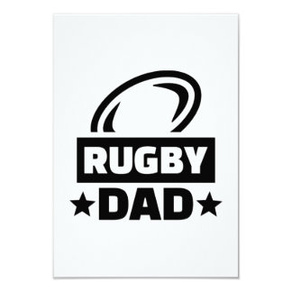 Rugby dad card