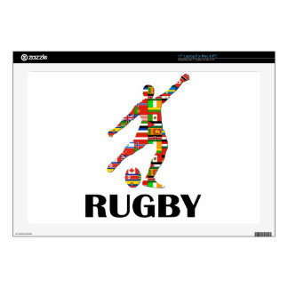 Rugby Decal For Laptop