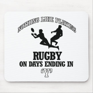 RUGBY designs Mouse Pad