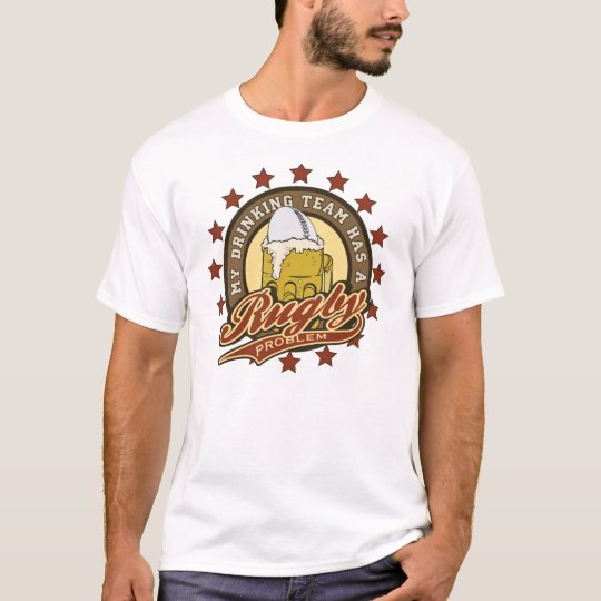 Rugby Drinking Team T-Shirt