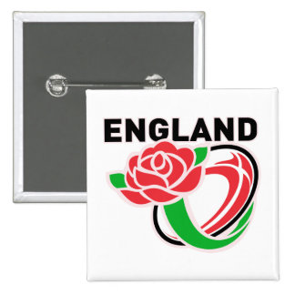 Rugby England English Rose Ball Buttons
