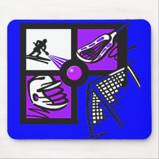 RUGBY EQUIPMENT MOUSE PAD