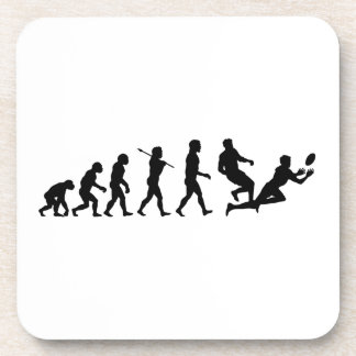 Rugby Evolution Fun Sports Beverage Coasters