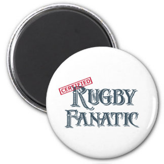Rugby Fanatic 2 Inch Round Magnet