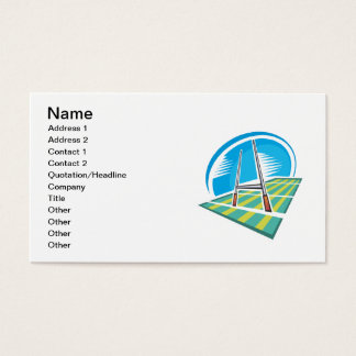 Rugby Field Business Card
