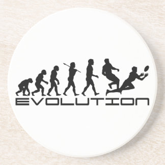 Rugby Football Sport Evolution Art Coasters