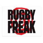 Rugby Freak Postcard