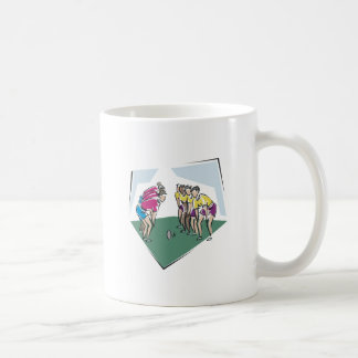 Rugby Game Classic White Coffee Mug