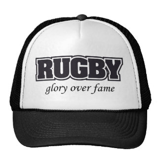 Rugby Glory Over Fame U.S. Custom Ink Trucker Hat