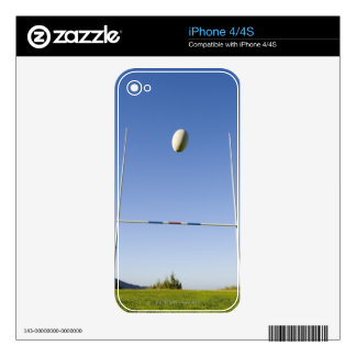Rugby Goal Decal For The iPhone 4