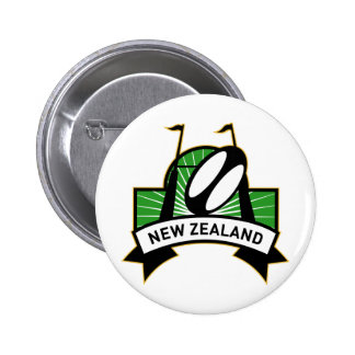 rugby goal post ball new zealand pinback buttons