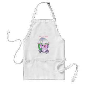 rugby hero, tony fernandes adult apron