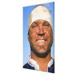 Rugby hooligan canvas print