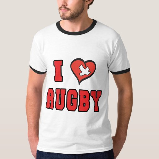 Rugby I LOVE RUGBY T-Shirt