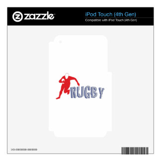 Rugby iPod Touch 4G Decal