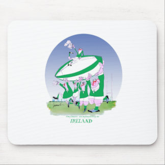 rugby irish cheers, tony fernandes mouse pad