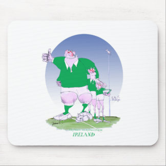 rugby irish chums, tony fernandes mouse pad