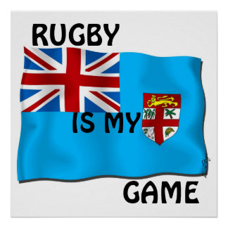 Rugby Is My Game Poster