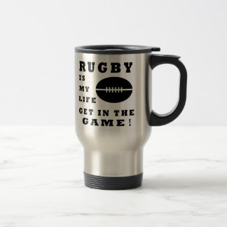 Rugby Is My Life Mugs