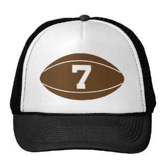 Rugby Jersey Number 7 Gift Idea Trucker Hat
