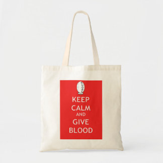 Rugby - Keep Calm & Give Blood Tote Bags