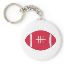 Rugby Keychain