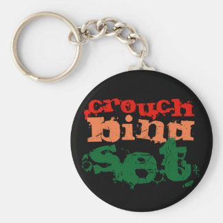 Rugby Keyring (Crouch Bind Set)