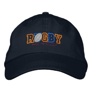 Rugby Kid Embroidered Baseball Hat