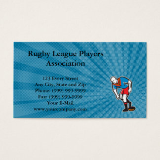 Rugby League Players Association Business Card
