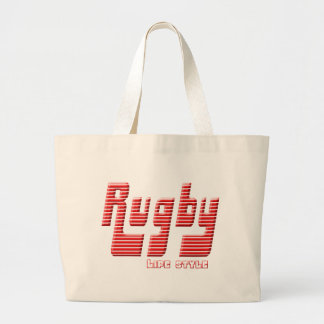 Rugby life style large tote bag