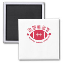 Rugby Magnet
