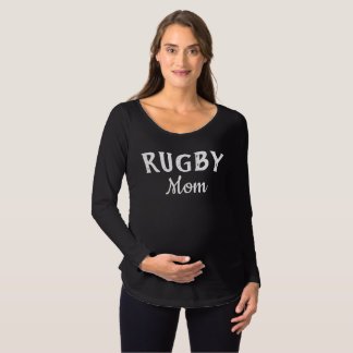 Rugby Mom Maternity T-Shirt