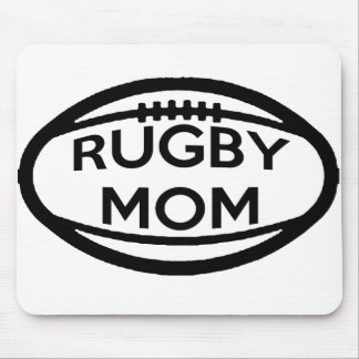 Rugby Mom Mouse Pad