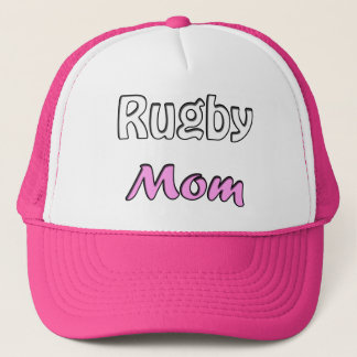 Rugby Mom Trucker Hat