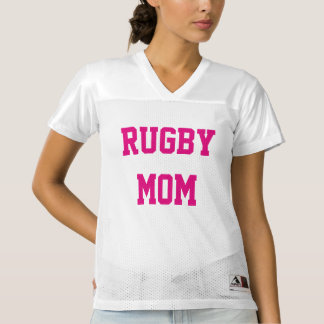 Rugby Mom Women's Football Jersey