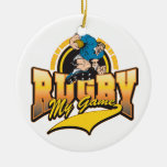 Rugby My Game Christmas Ornaments