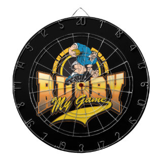 Rugby My Game Dartboard With Darts