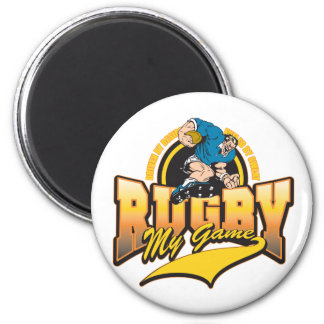 Rugby My Game Magnets