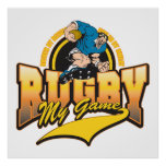 Rugby My Game Poster