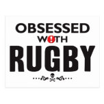 Rugby Obsessed Postcard