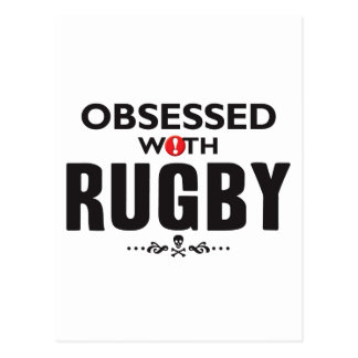Rugby Obsessed Postcards