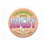 Rugby Obsessed R Postcard