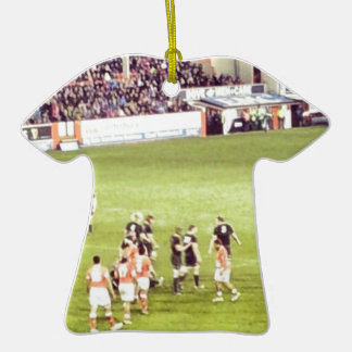 Rugby Ceramic T-Shirt Decoration