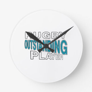 RUGBY OUTSTANDING PLAYER ROUND CLOCK